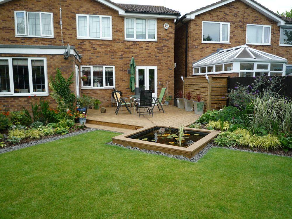 Diagonal Garden Design - Google Search | Garden Ideas | Pinterest