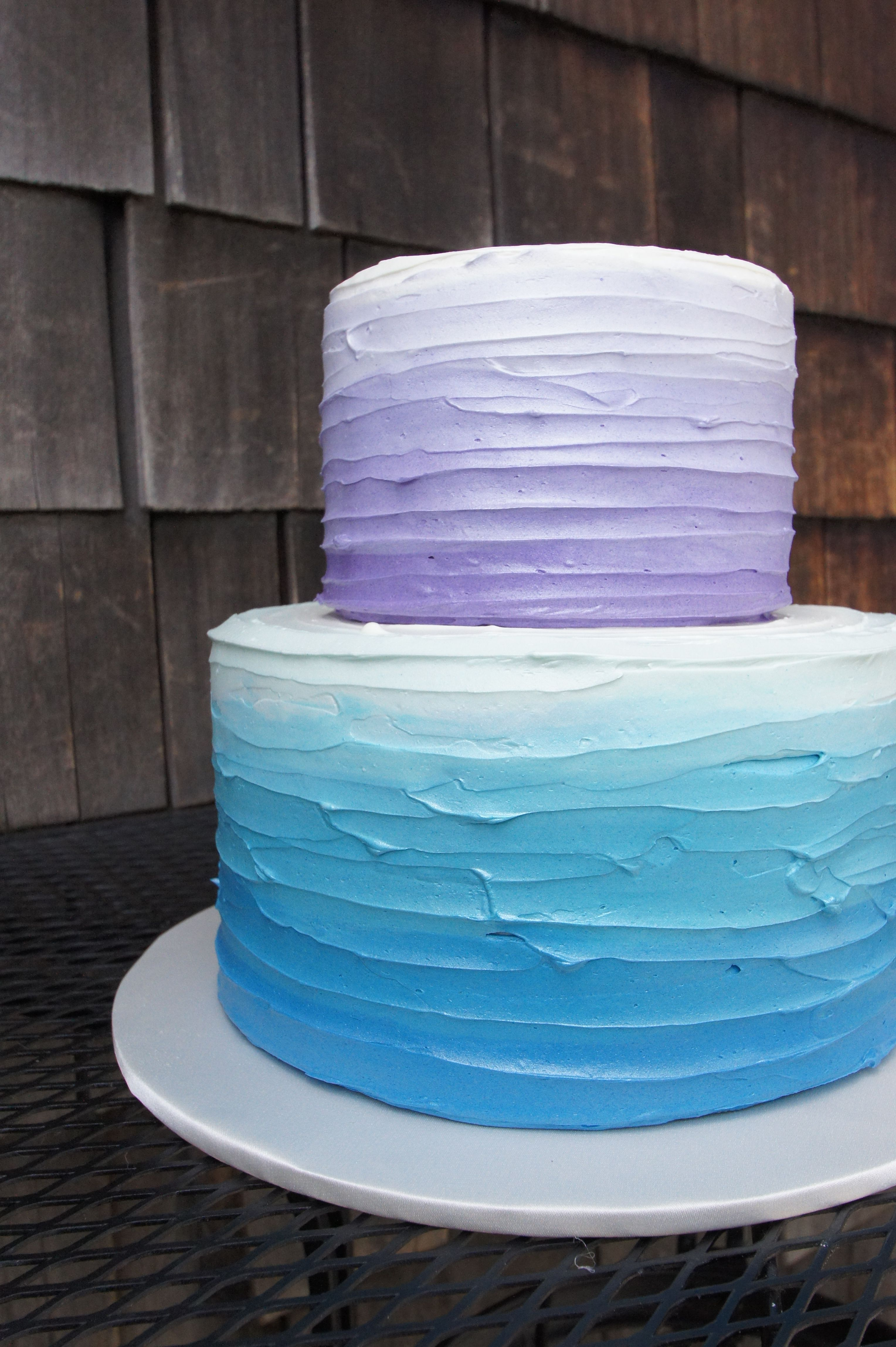 ombre wedding cake purple blue and purple ombre texture birthday cake children s 18009