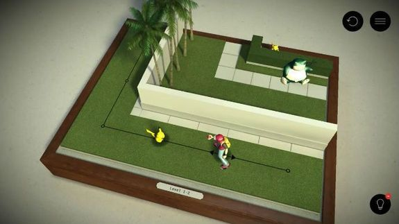 'Pokemon Go' gets a cute welcome from the 'Hitman Go' team