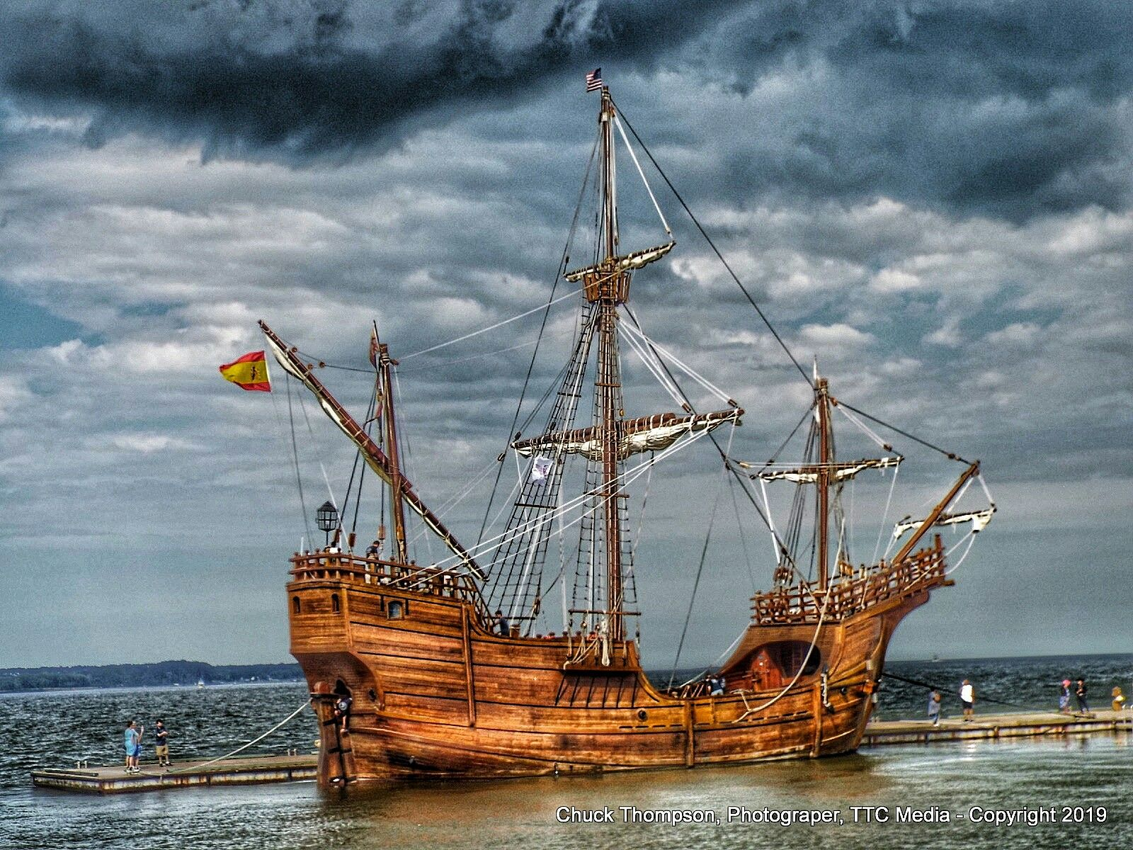 Pin By Ttc Media On The Santa Maria Christopher Columbus
