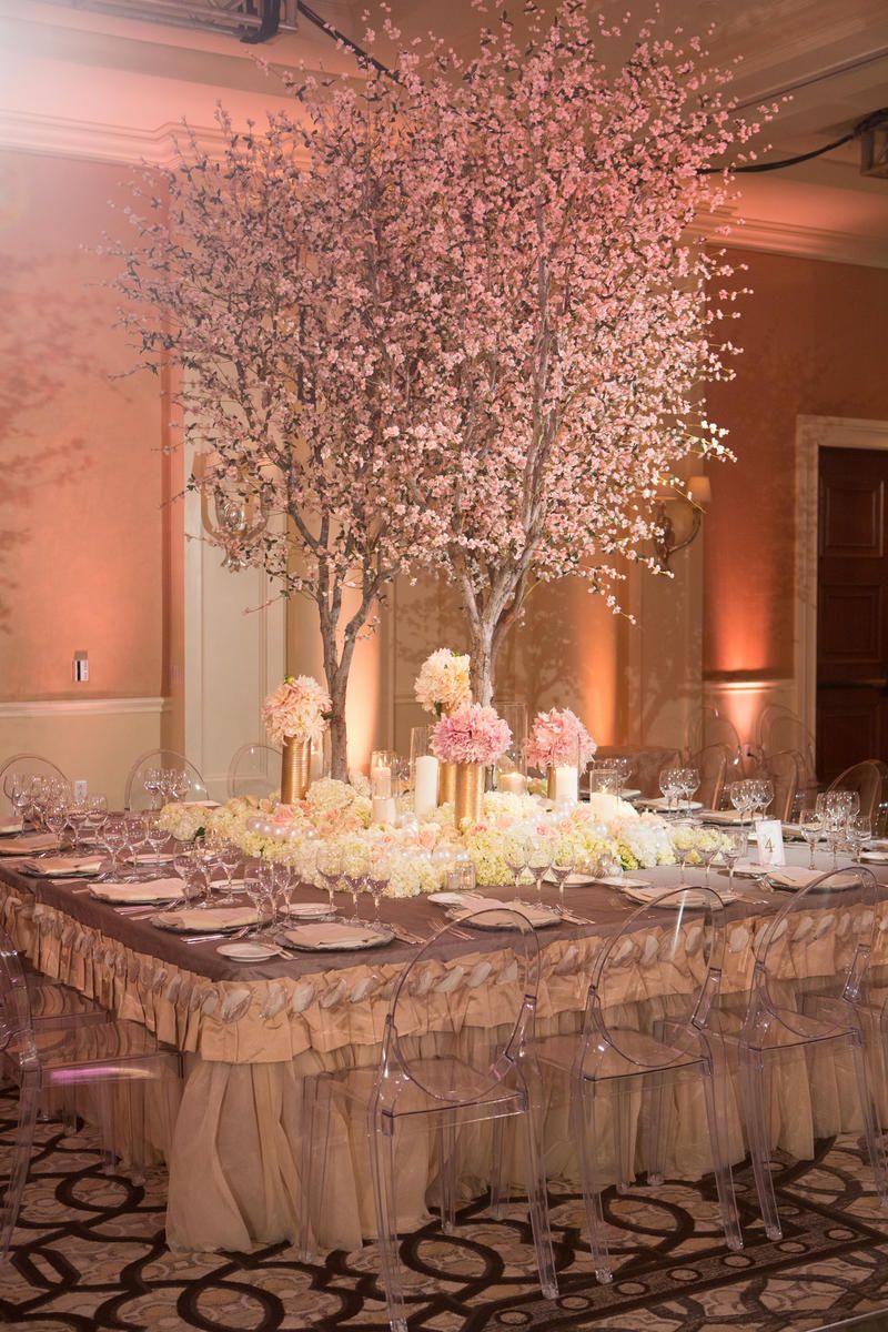 Tamra And Eddie S Wedding Album Wedding Decorations Wedding Centerpieces Cherry Blossom Wedding
