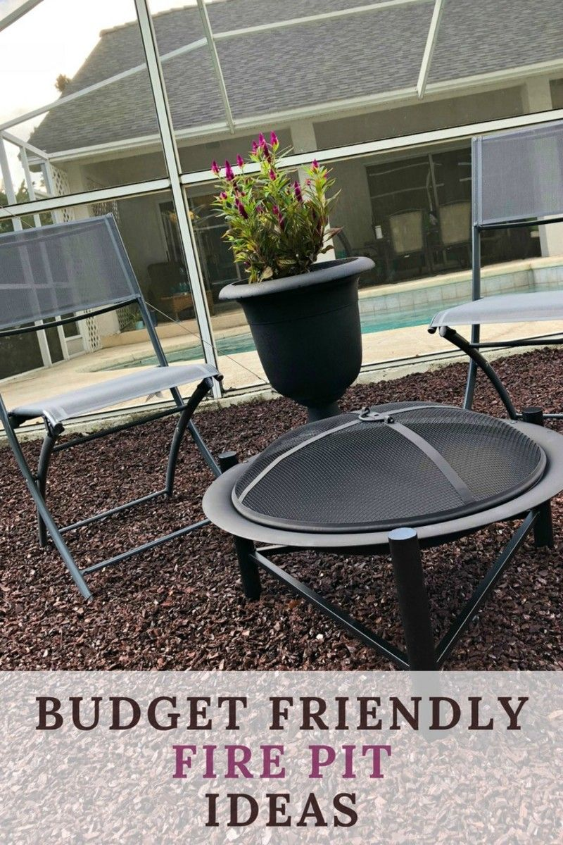 Easy Budget Friendly Spring Decorating: Easy Budget Friendly Fire Pit Ideas