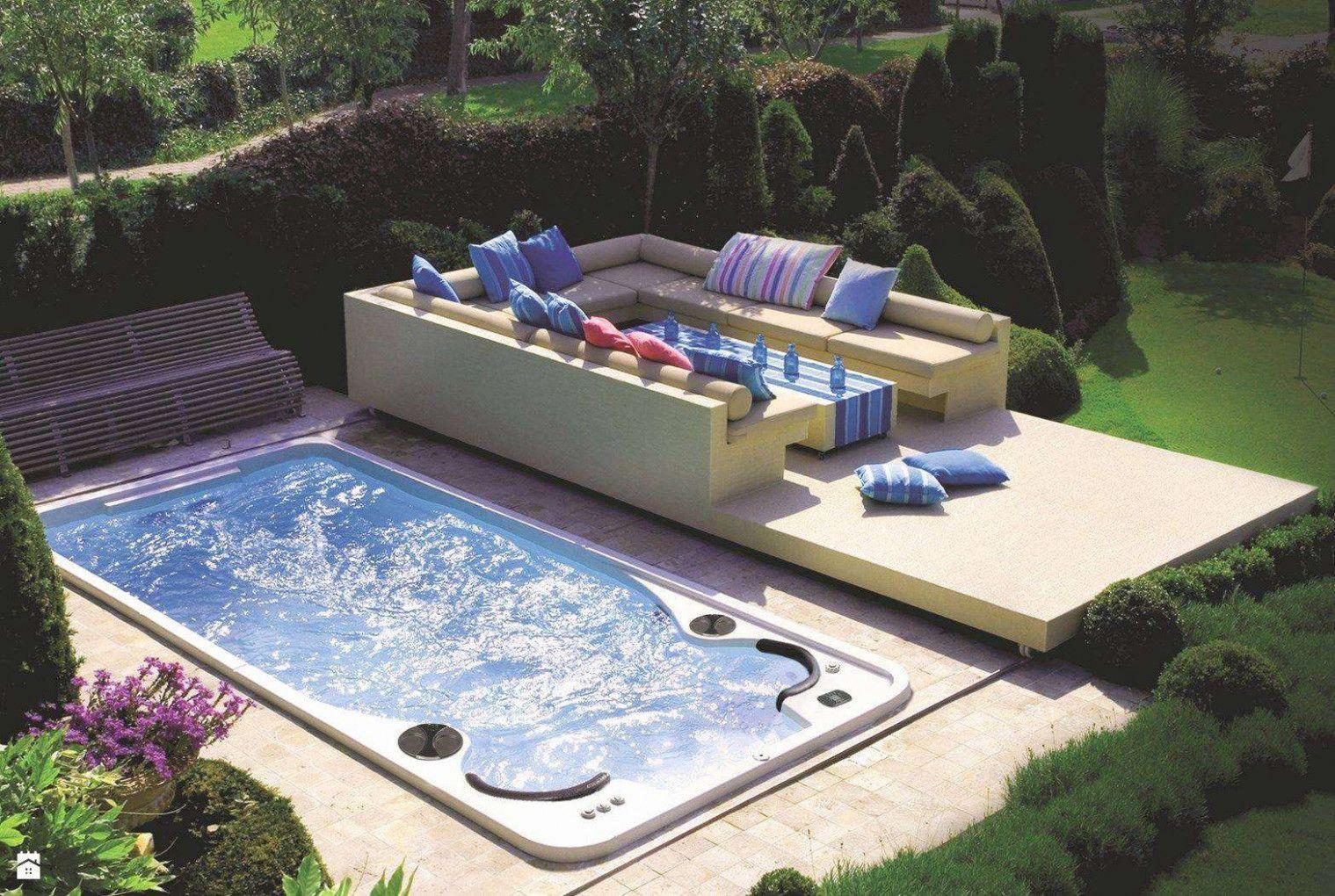 Schaben Im Garten Wirlpool Outdoor Pool Dekor Swimming Pool