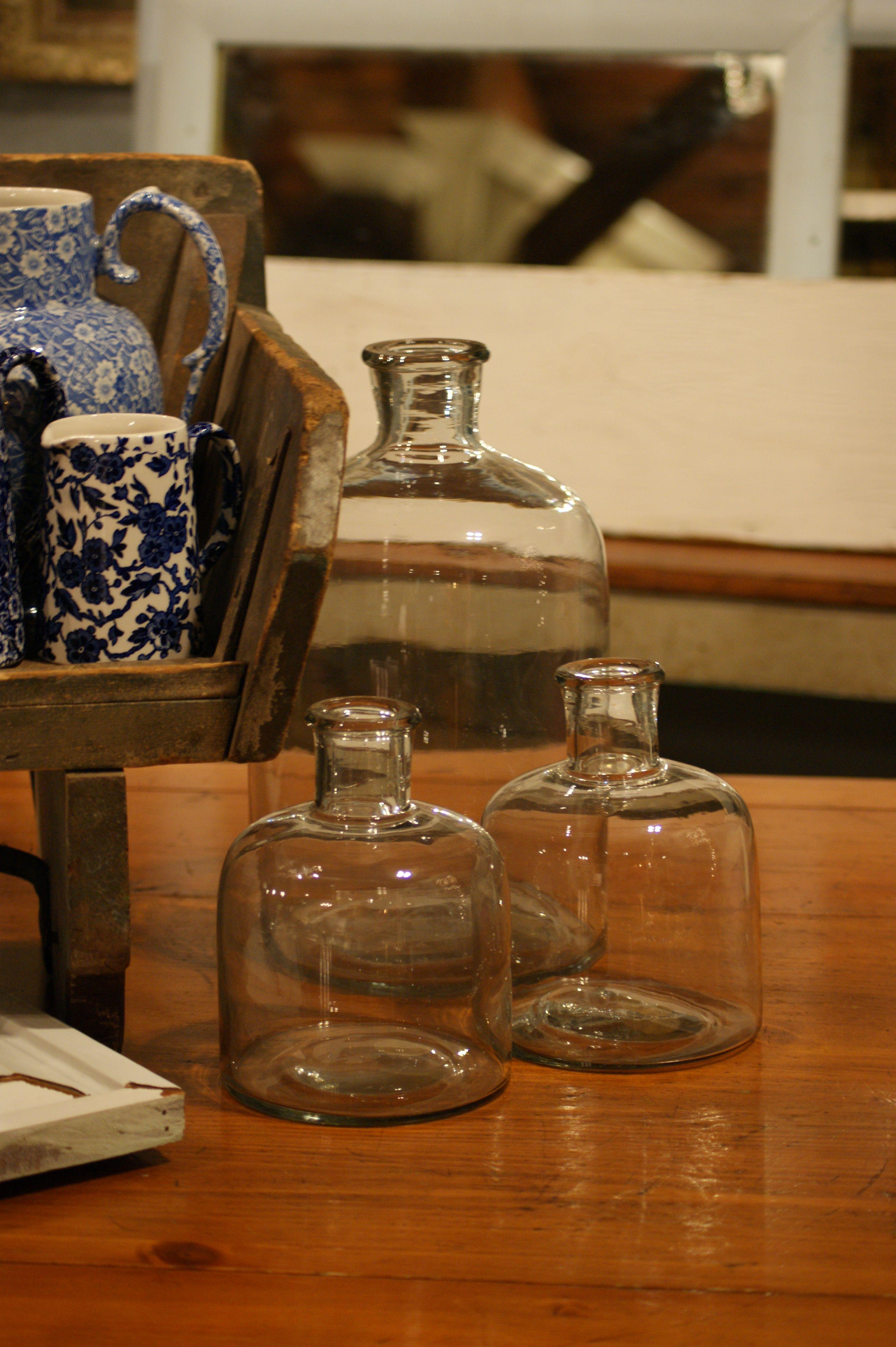 Glass jugs at Schuyler Pond.