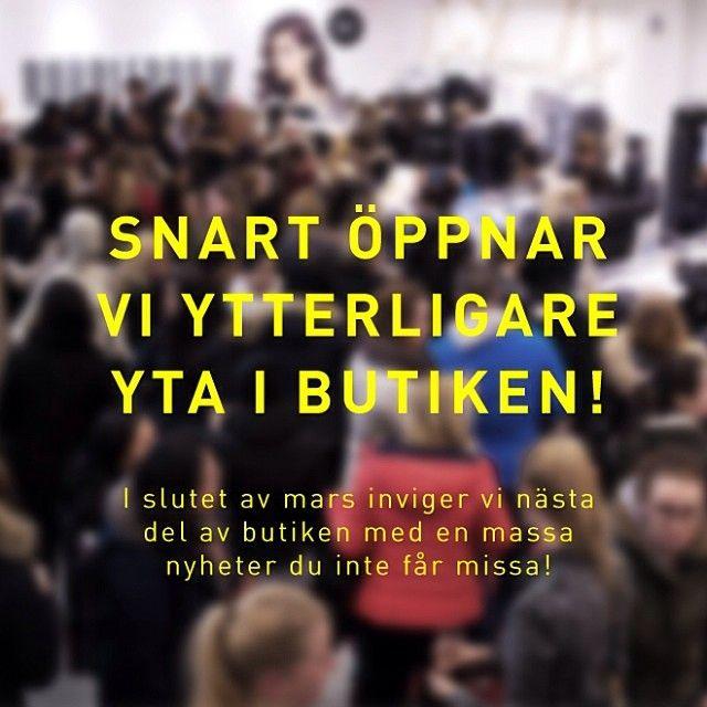 På tisdag 18/3 mellan 17-20 inviger vi resten av #PopUpPlace i #Femman #Göteborg och detta firar vi med bubbel och ett extra fint erbjudande...