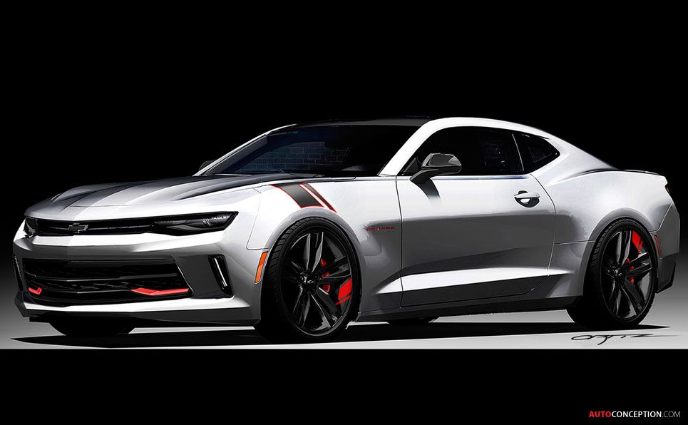 Chevrolet Camaro Concepts Unveiled at 2015 SEMA Show | Rods ...