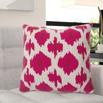 Leggett 100% Cotton Ikat Pillow