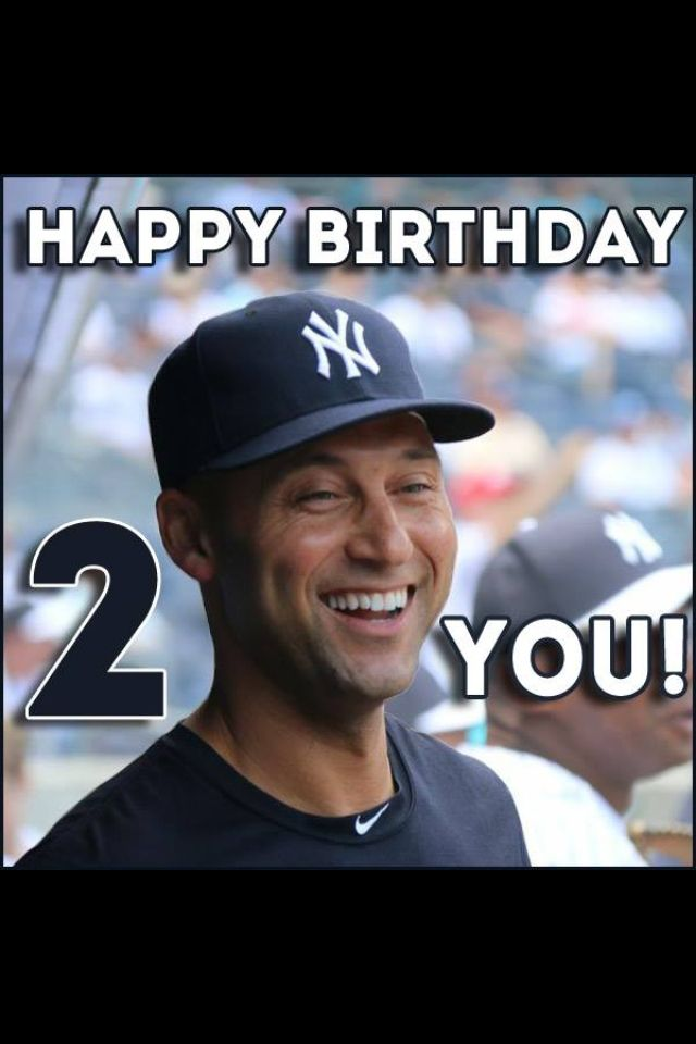 Derek Jeter Birthday The Captain 2 Derek Jeter New