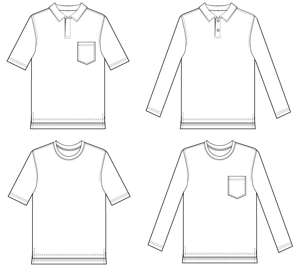graphic about Pocket Pattern Printable named Cost-free Printable T Blouse Pocket Behavior Advantage Technology and