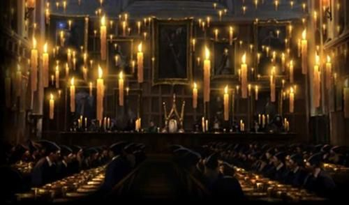 Great Hall Floating Candles With Images Floating Candles