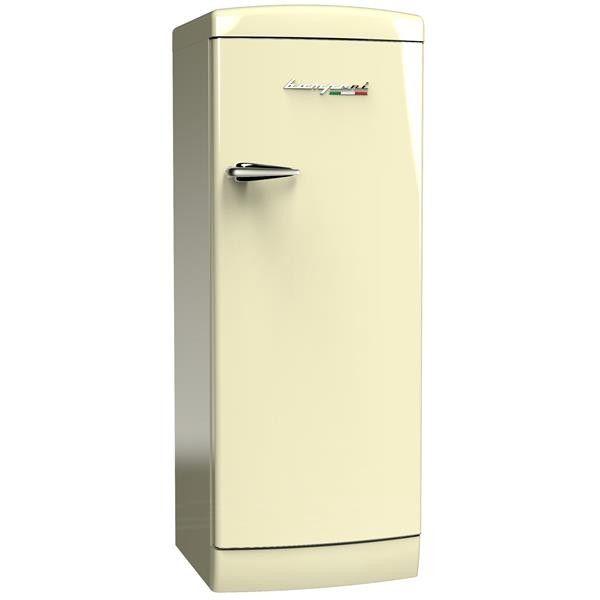 Stand Kühlschrank im Retro Design mit LED Beleuchtung. 159