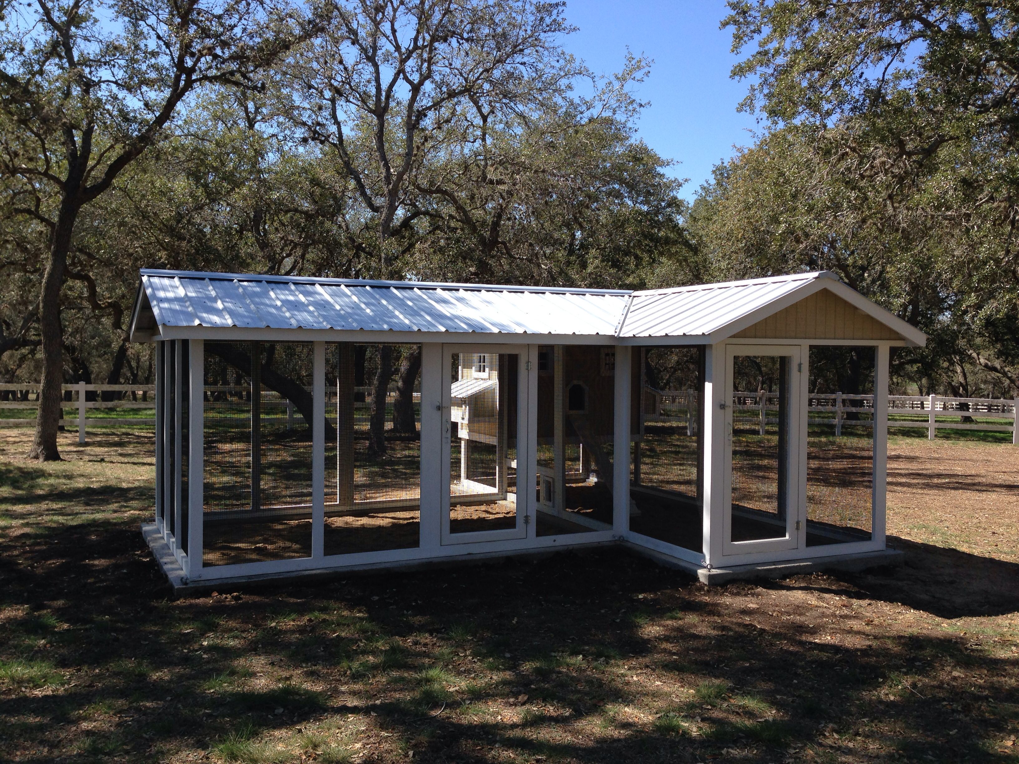 Awesome Way To Add A Run Extension To Your Existing Chicken Coop