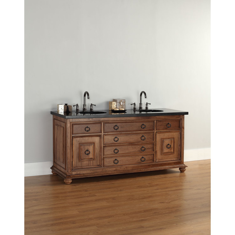 "James Martin Solid Wood 72"" Mykonos Double Bathroom Vanity 550-V72-CIN"