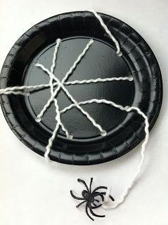 Paper Plate Spiderweb   Fun Family CraftsFun Family Crafts