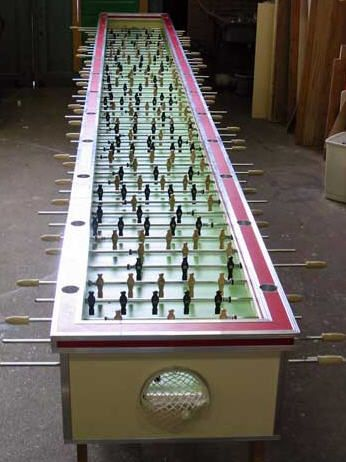Giant Foosball Table Its On AWESOME Pinterest Man Caves - Wilson foosball table