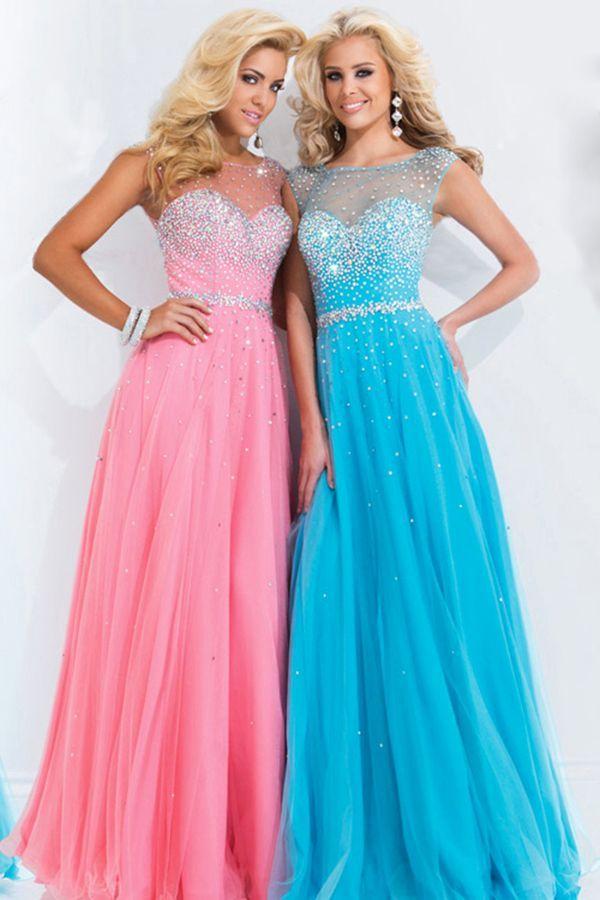 Cute Blue Prom Dresses Tumblr   Cute dresses   Pinterest   Prom