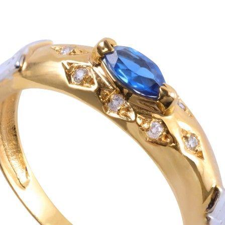 Anel de Formatura Ouro com Diamante 4 Pontos AG044 - Rosana Joias