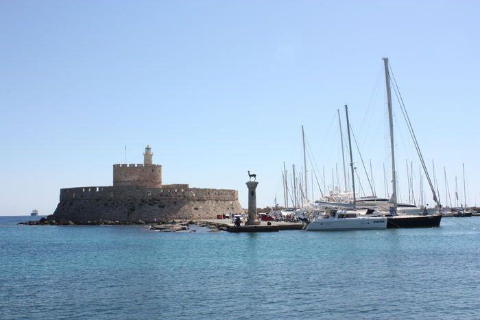 Hafen von Rhodos, #Rhodos