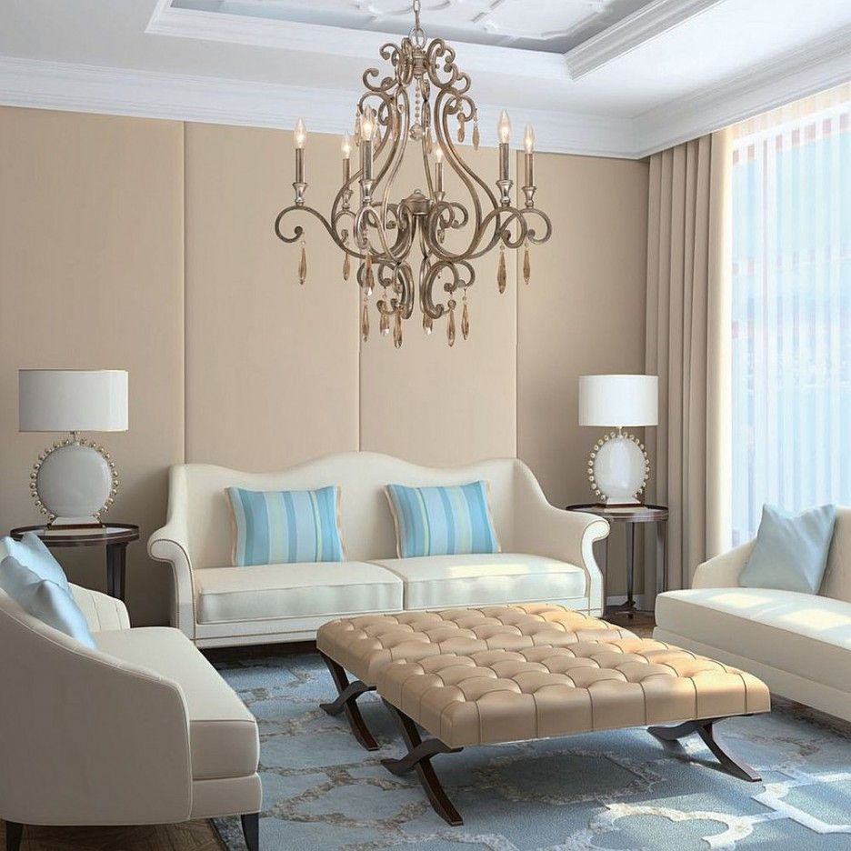 Living Room : Beige Leather Twin Tufted Ottoman With White Fabric ...