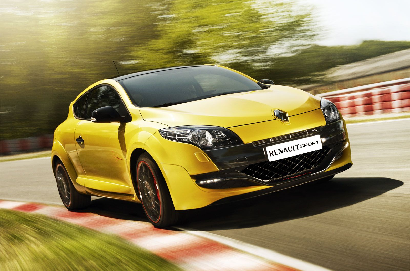 2012 Renault Megane Rs Trophy Hd Wallpaper Con Imagenes