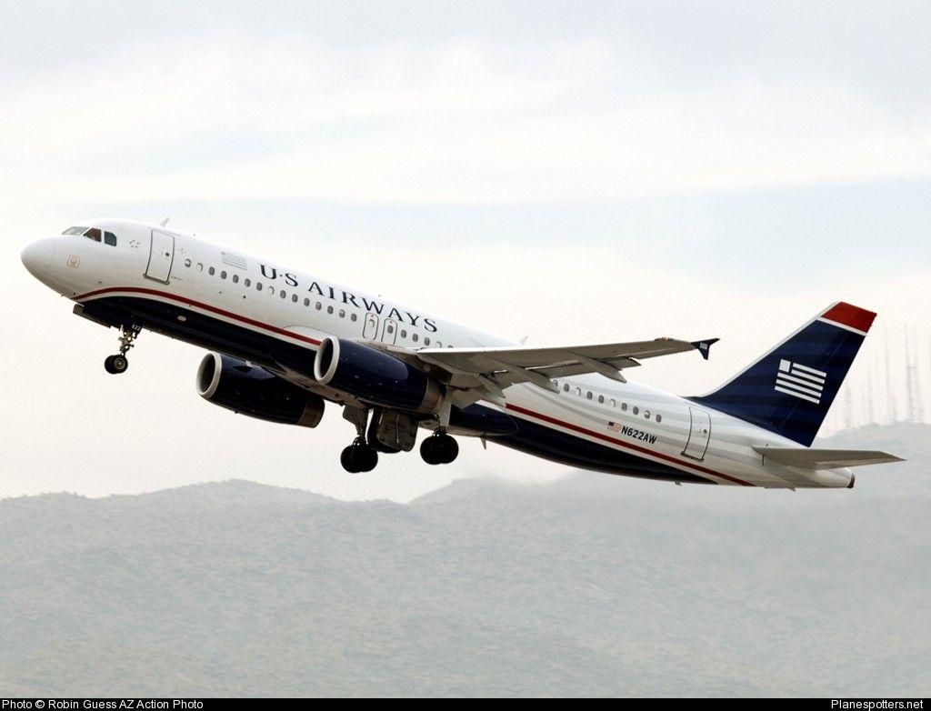 N622AW US Airways Airbus A320-200