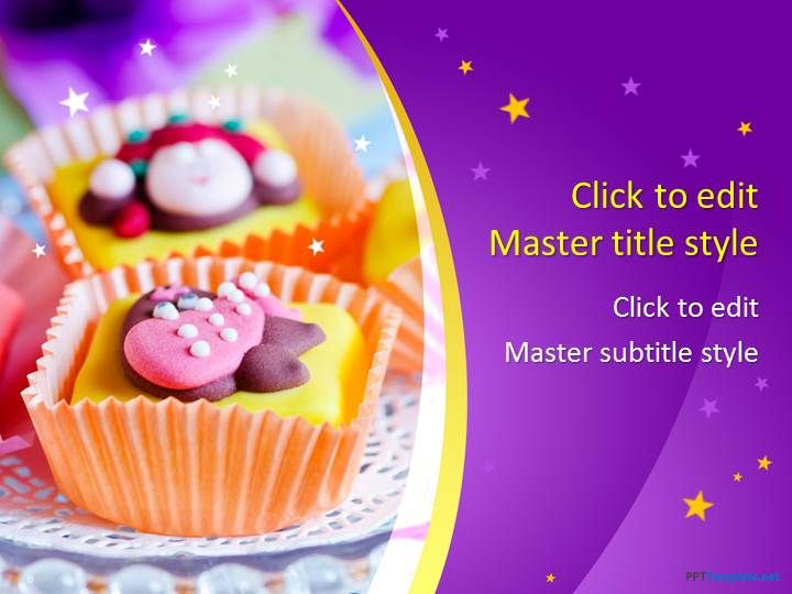 Free Cake PPT Template Projects to Try Pinterest Ppt - sample easter powerpoint template