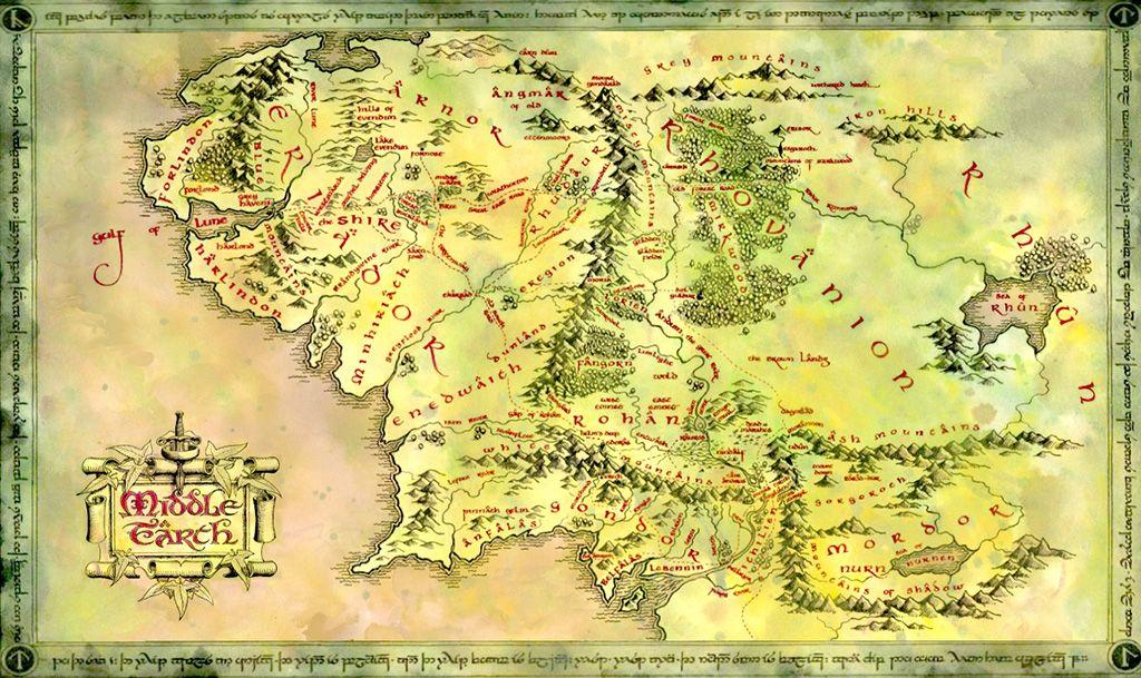Anillo Unico Caracteristicas Historia Y Mucho Mas Mapa De La