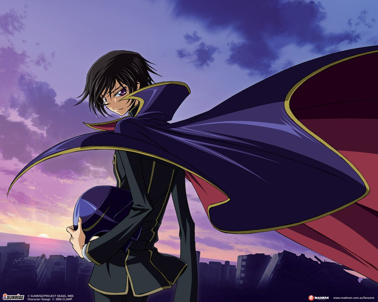 Code Geass Lelouch Lamperouge Zero Wallpaper My Anime Stars
