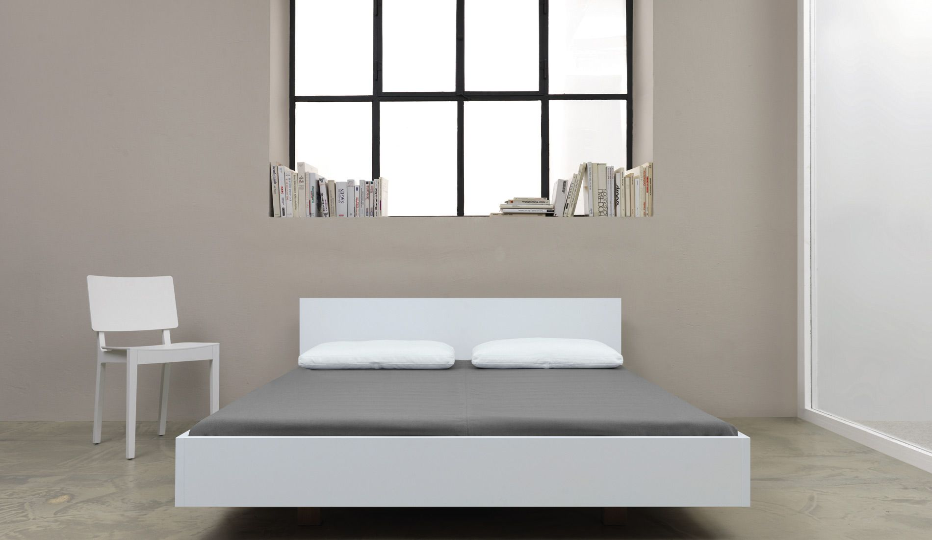 Zeitraum Simple Hi 67, Bed - Costs About 2.350 Eur In White ... Zeitraum Bett Gebraucht
