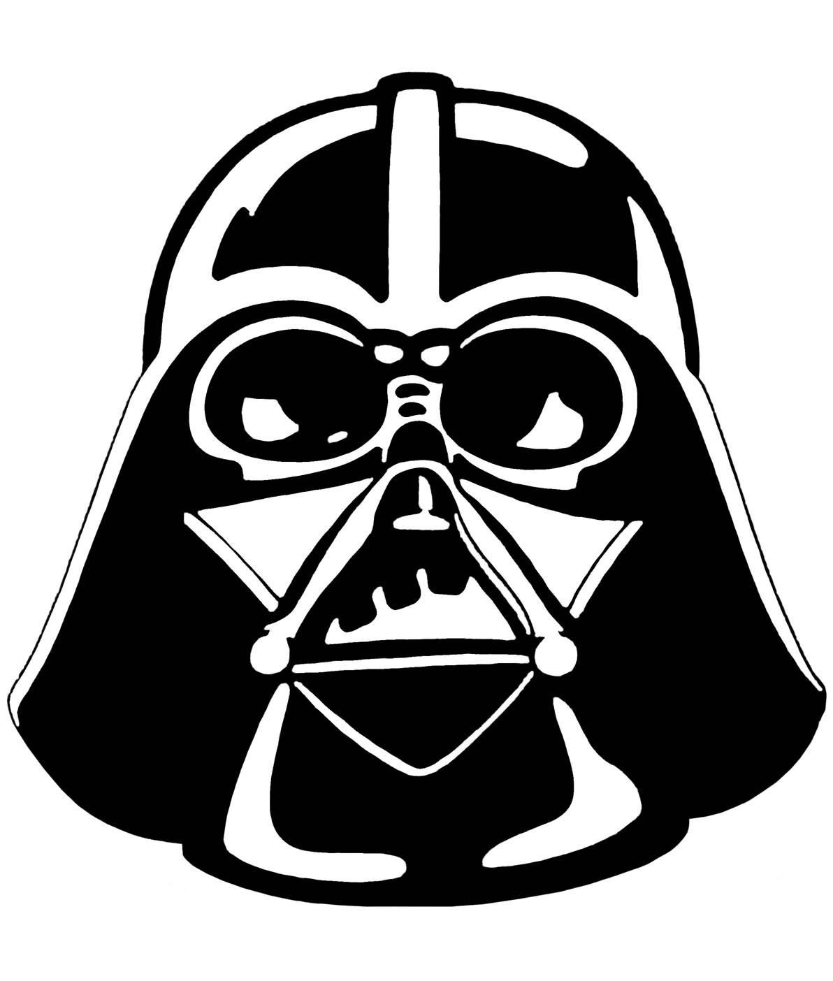darth vader graphic - Pochoir Dark Vador