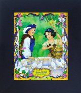 8x10 FRAMED Glossy Poster Snow White and the Seven Dwarves - The Well **RARE**VINTAGE**