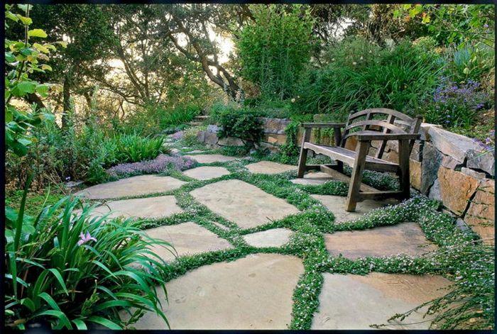 1001 Ideas Sobre Diseno De Jardines Irresistibles Y Originales - Suelos-para-jardines-pequeos