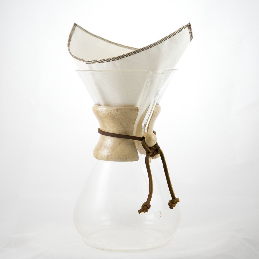 Chemex style 613 cup in 2020 reusable coffee filter