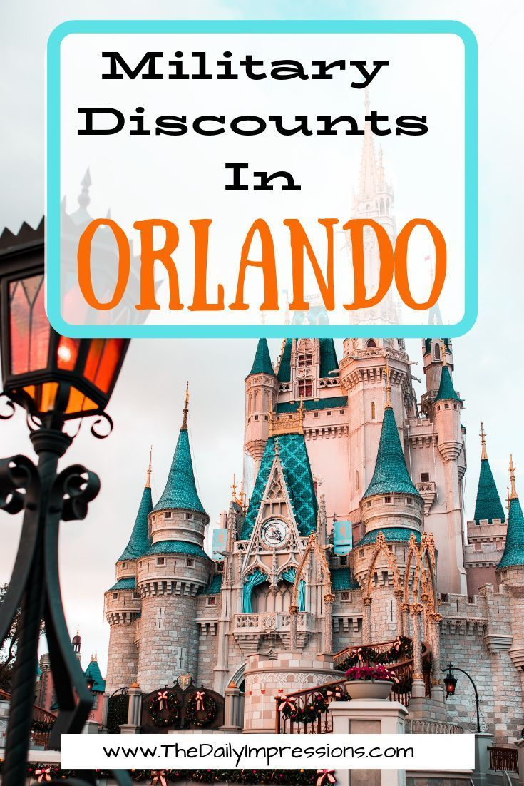 Orlando, Florida is a great Military friendly vacation option with an extensive list of military discounts ,tons of attractions, great food and accommodation options. Here is a Giant list of Military Discounts in Orlando. #OrlandoDiscounts #MilitaryFamilyTravel #MilitaryLife #TravelDiscounts #TravelDiscounts