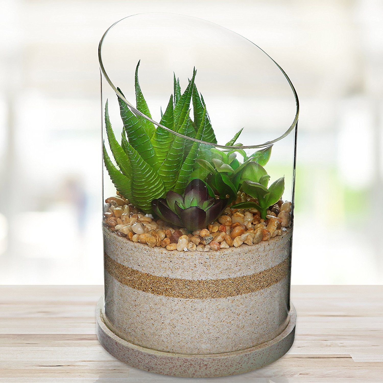 Httpswwwamazoncomartificial Succulent Centerpiece