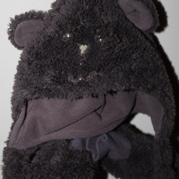 New bear hat, mitts & booties, 6-12 months