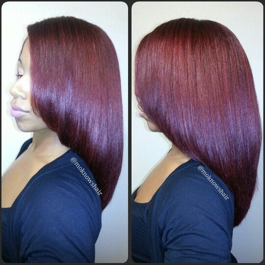 Silk Roller Wrap With Flat Ironing Hairstyles By Monica