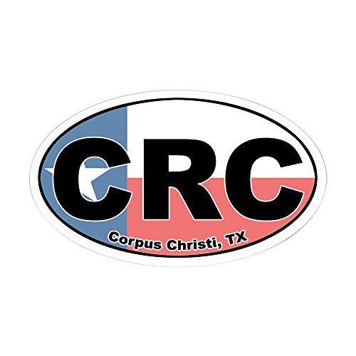 Cafepress crc corpus christi oval sticker oval bumper sticker euro oval car decal click image