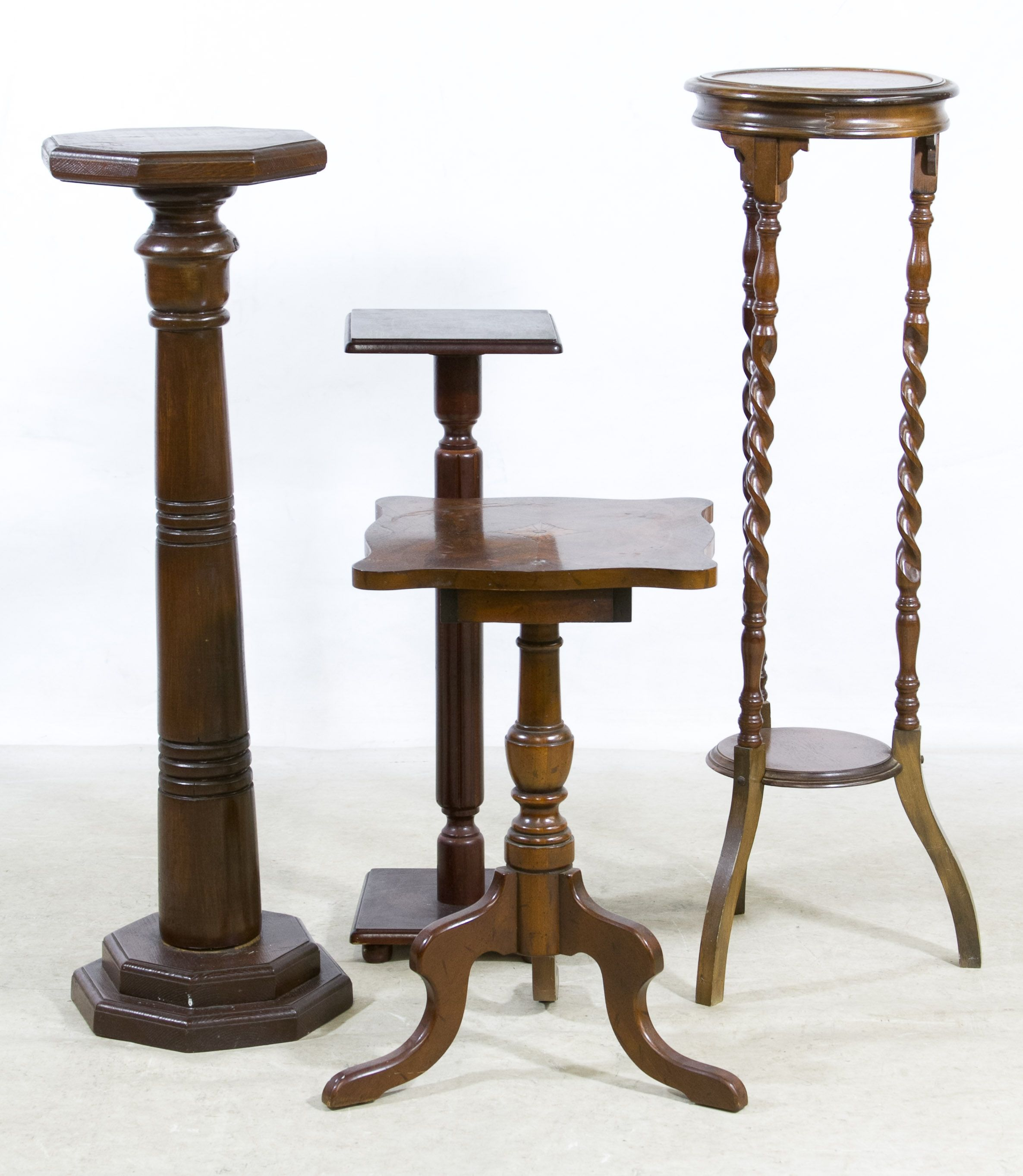 is with sculptural our centerpiece pedestal stands a and stand in pin wood marble round india crafted