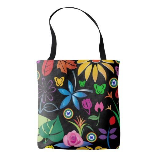 Women All-Over-Print Tote Bag, Medium Tote Bag