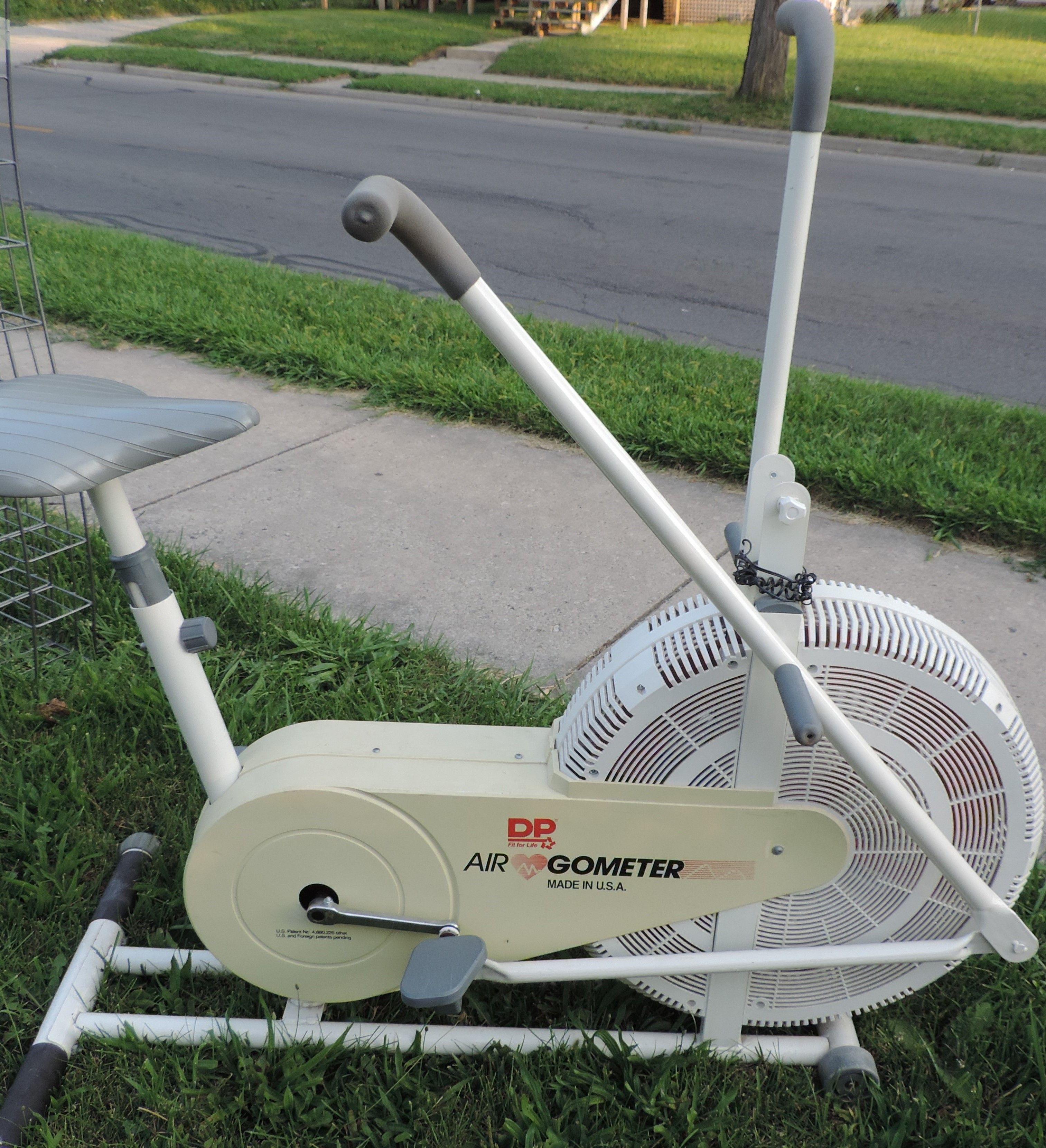 DP Airgometer Exercise Bicycle in Peas' Garage Sale Fort