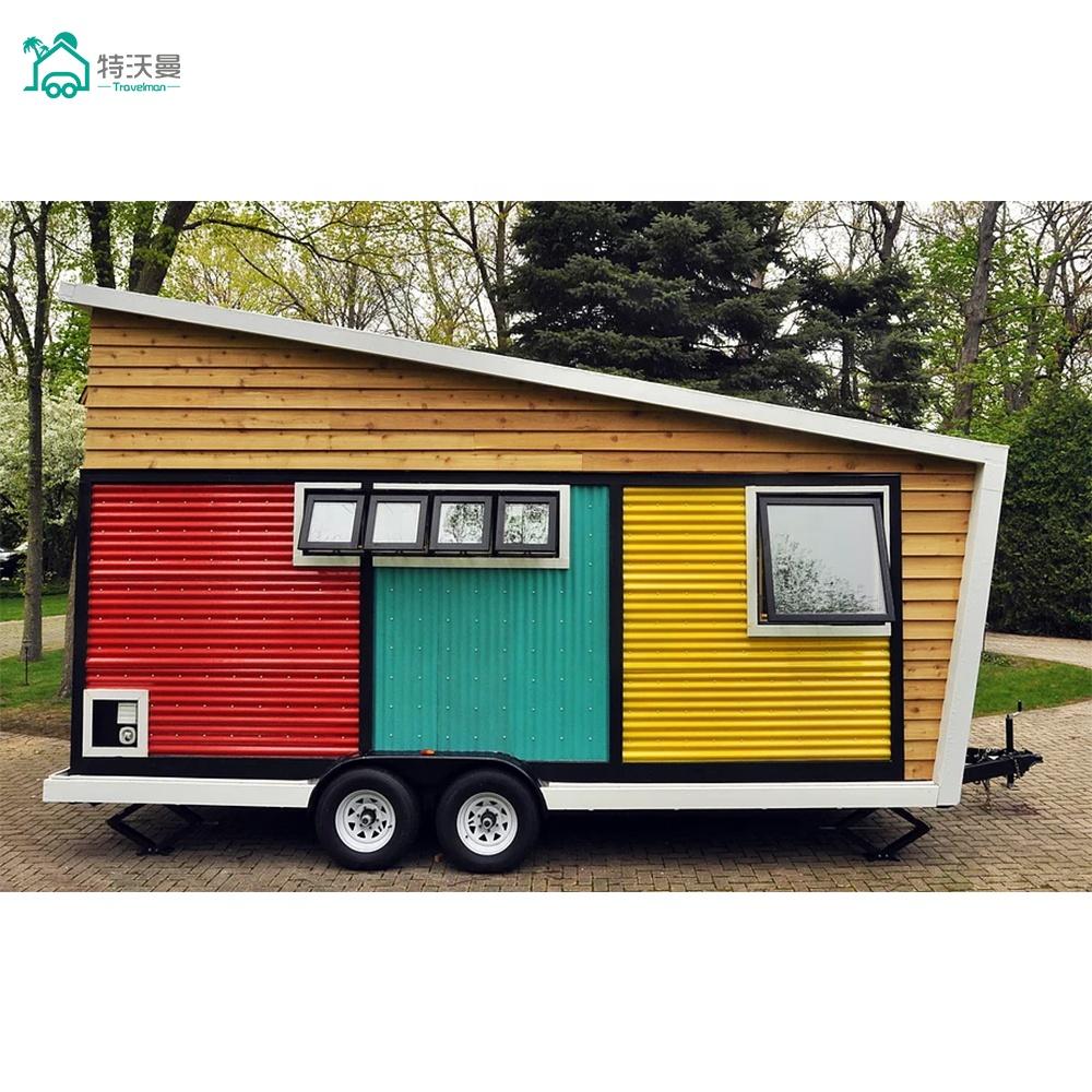 Travelman Modern Light Weight Prefab Caravan House For Sale Buy Prefab Caravan House Prefab Caravan In 2020 Tiny Mobile House Tiny House Design Tiny House On Wheels