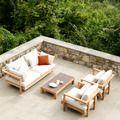 Tribù Pure Sofa, Loungebank 200cm, kussens Casual Style