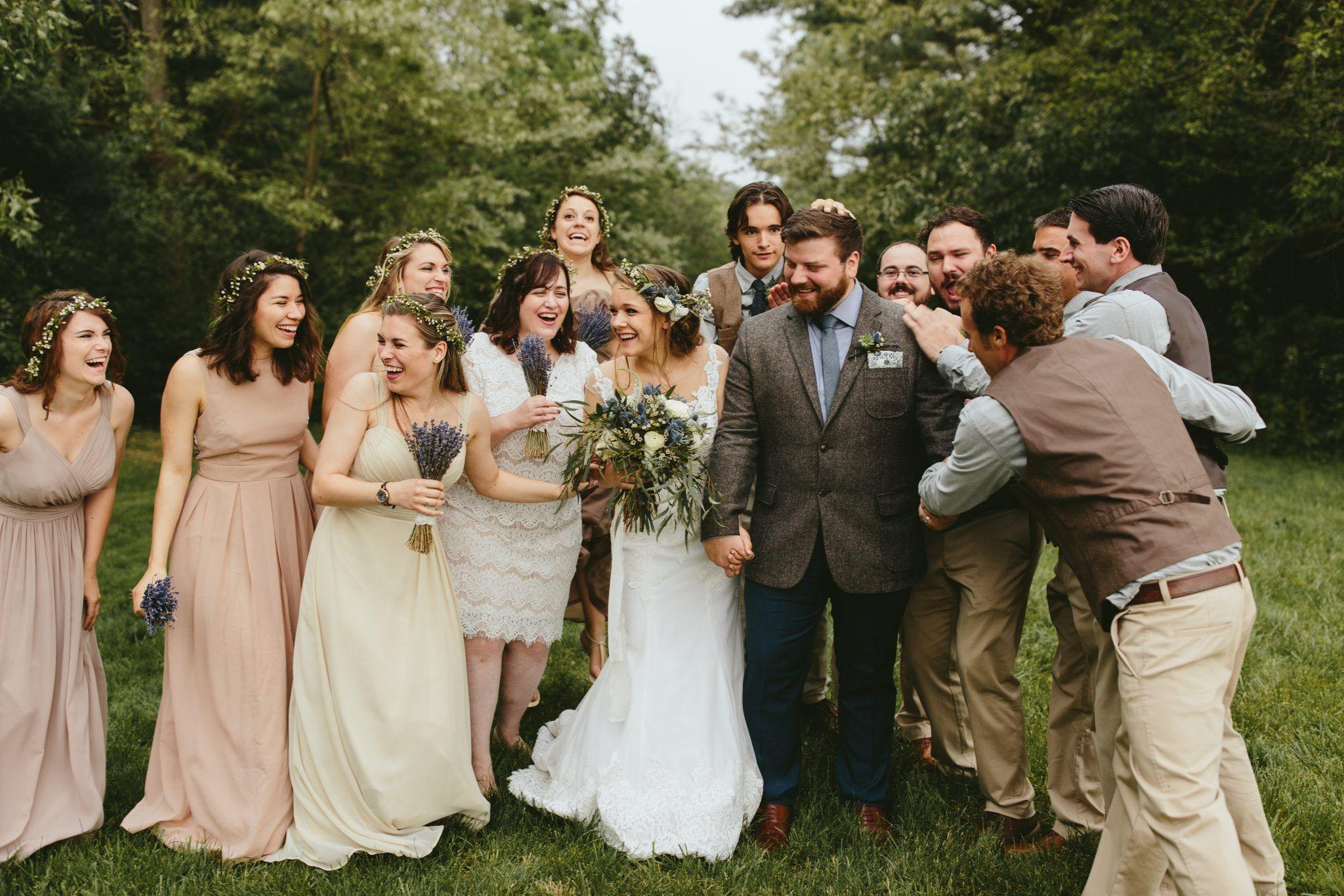 Wedding dresses brooklyn  Jess  Myles  Barn Wedding in Cleveland OH  Philadelphia Wedding