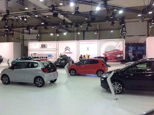 The CITROËN social team is on the premises. We will keep you posted throughout the #autosalon2015!