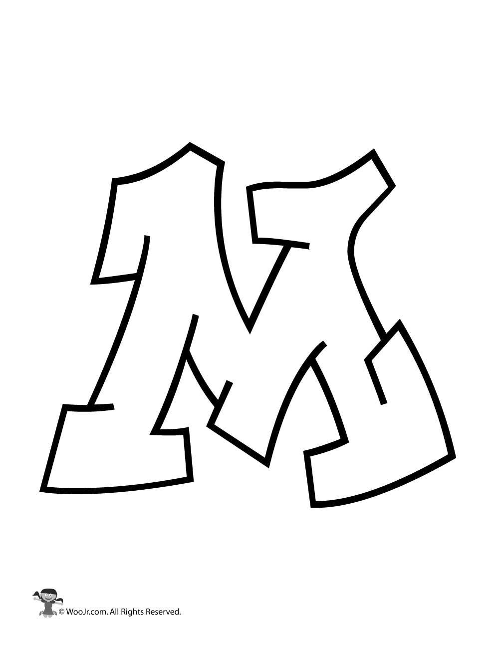 Graffiti Capital Letter M In 2020 Graffiti Lettering Graffiti