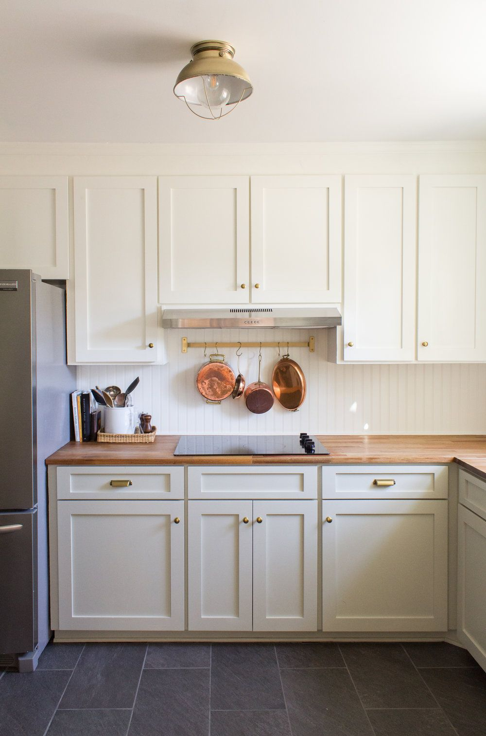 Before After Our Kitchen Is Finished Cultivate Interiors Com Kitchen Cottage Kitchen Kitchen Counter Cabinet