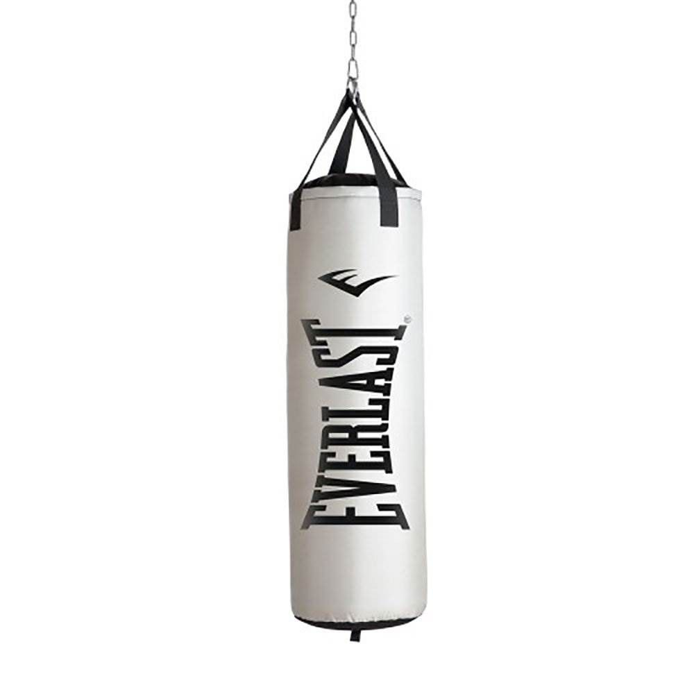 Everlast Nevatear Fitness Workout 60 Pound Heavy Boxing Punching Bag Platinum Boxing Punching Bag Heavy Punching Bag Punching Bag
