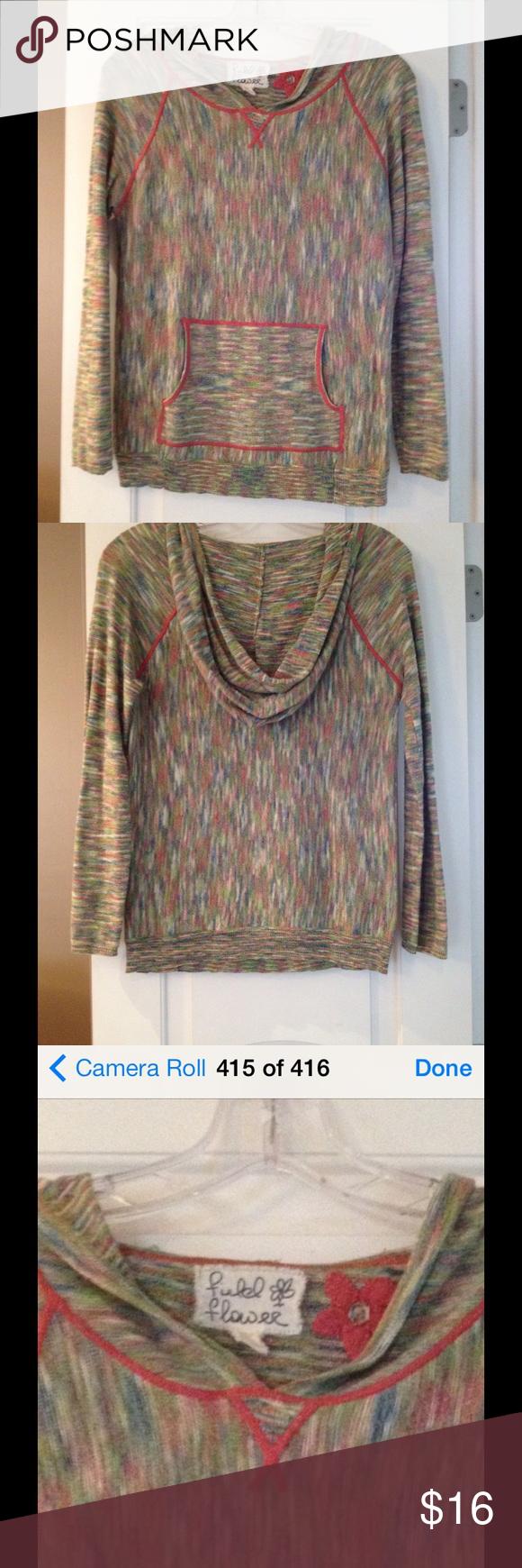 Anthropologie field flower🌸 hoodie size XS | Colors, Hoodies and ...