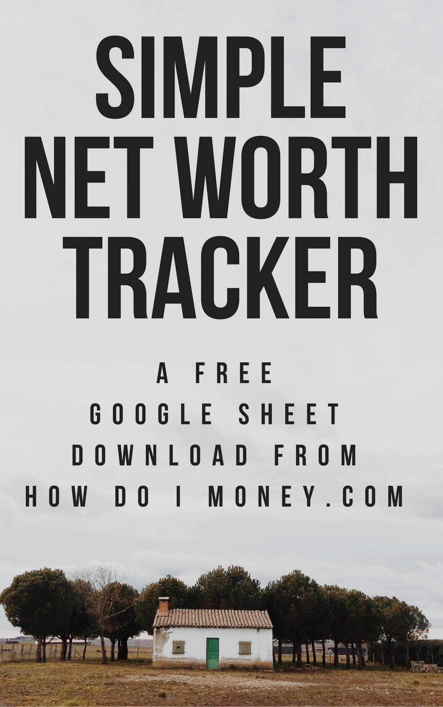 Free Net Worth Tracker